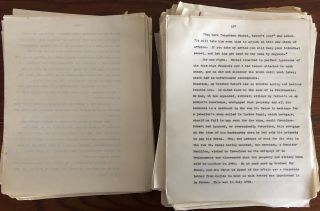 Daphne du Maurier collection on her novels, The Glass-Blowers (1962) and Myself When Young (1977).