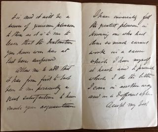 Sandford Fleming 4pp. holograph letter signed to Sir Frederick Young