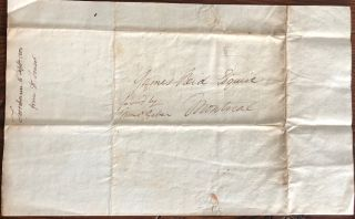 Two Dr. Simon Fraser holograph letters