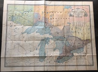 Map No. 2 (East-Central Section) Dominion of Canada Telegraph & Signal Service. Sir Hector...