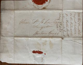 Thomas Bartlet, Autograph Letter Signed to to Oliver St. John
