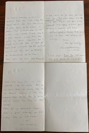 Beatrice Harraden collection of 12 Autographed Letters Signed