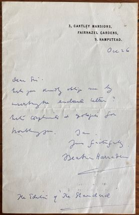 Beatrice Harraden collection of 14 Autographed Letters Signed