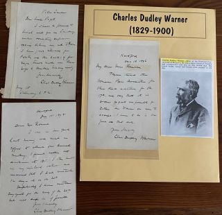 Charles Dudley Warner collection