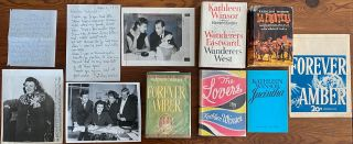 Kathleen Winsor collection. Kathleen WINSOR