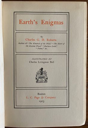 Sir Charles George Douglas Roberts 9 Poetry Books collection