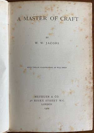 W.W. Jacobs and Louis N. Parker collection