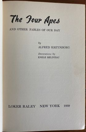 Alfred Kreymborg collection