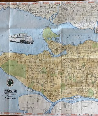 3 Vancouver, Victoria BC related maps
