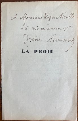 Irène Némirovsky collection