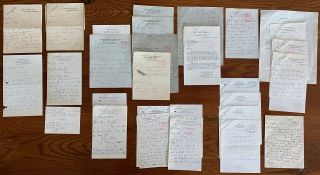 Edith Sitwell Letters collection. Dame Edith Louisa SITWELL