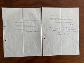 Harold Acton Letter collection