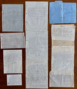 Étienne Gilson Letter collection. Étienne GILSON
