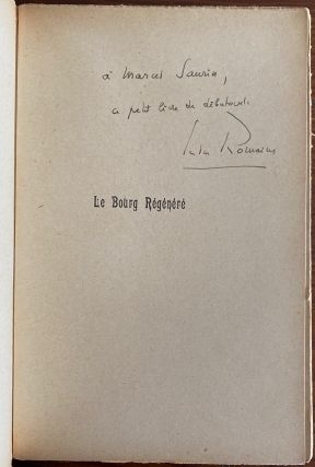 Jules Romains Letters & Books collection