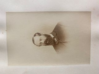 [His Excellency Viscount Monk] albumen photo