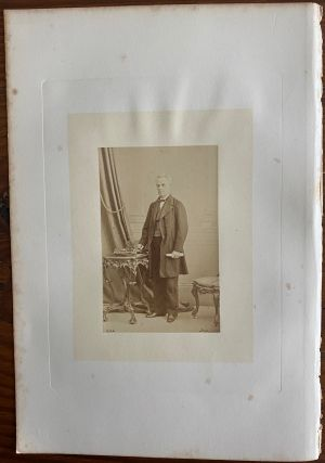 Honorable George Étienne Cartier] albumen photo. Sir George-Étienne CARTIER, 1st Baronet,...
