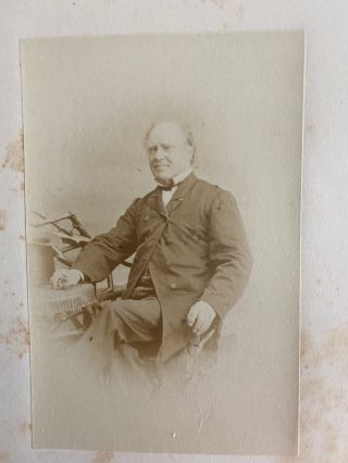 [Honorable Joseph Howe] albumen photo