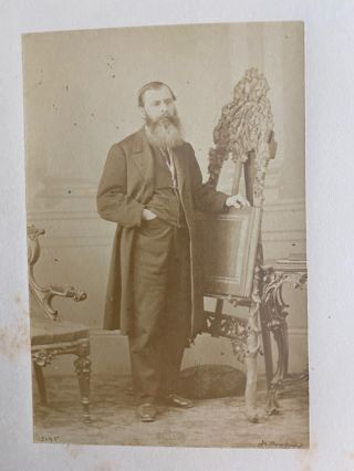[Honorable Joseph Cauchon] albumen photo