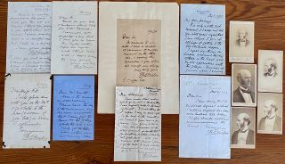 Thomas Hughes Letters and CDV collection. Thomas HUGHES