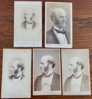 Thomas Hughes Letters and CDV collection