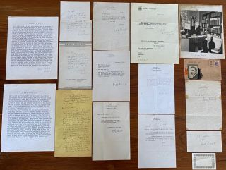 Will Durant Typescripts, Letters and Ephemera collection. Will James DURANT