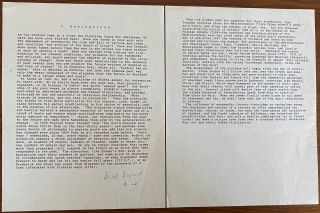 Will Durant Typescripts, Letters and Ephemera collection