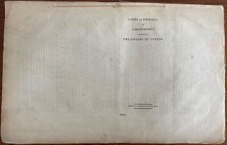 Lord Durham 3 Parliamentary Papers Responses Collection