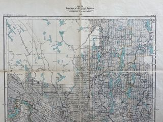 Ontario Kingston Sheet 10 S.W. Canada, Department of Mines and Resources Surveys and Engineering Branch Hydrographic and Map Service.