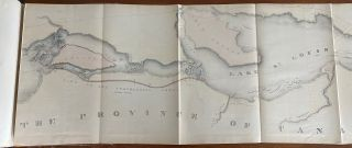 Maps, Reports, Estimates &c, relative to Improvements of the Navigation of the River St. Lawrence and a proposed Canal connecting the River St. Lawrence and Lake Champlain. Laid before the Legislative Assembly during the 2nd Session, 5th Parliament, 1856