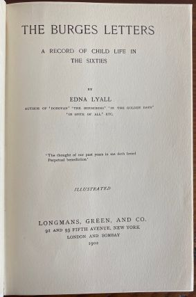 Edna Lyall collection