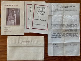 Edwin Markham Ephemera collection II