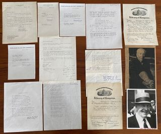 Archibald MacLeish collection II. Archibald MACLEISH