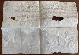 Charles de Montmorency, Duke of Damville signed document. Charles de Montmorency MONTMORENCY,...