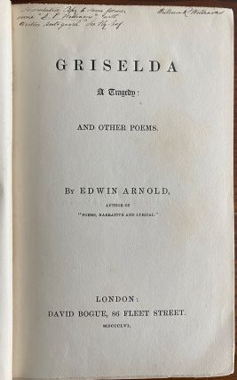 Edwin Arnold collection