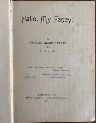 Charles Henry Lüders collection