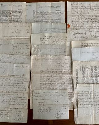 James Reid Montreal lawyer 39 English 1807 legal case documents
