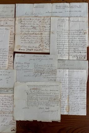 James Reid Montreal lawyer 32 French 1807 legal case documents