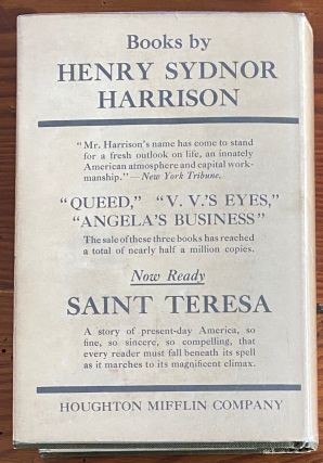 Henry Sydnor Harrison collection