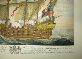 """""""This Print being the Exact Representation of that Capital Ship the Great Harry..."""""""
